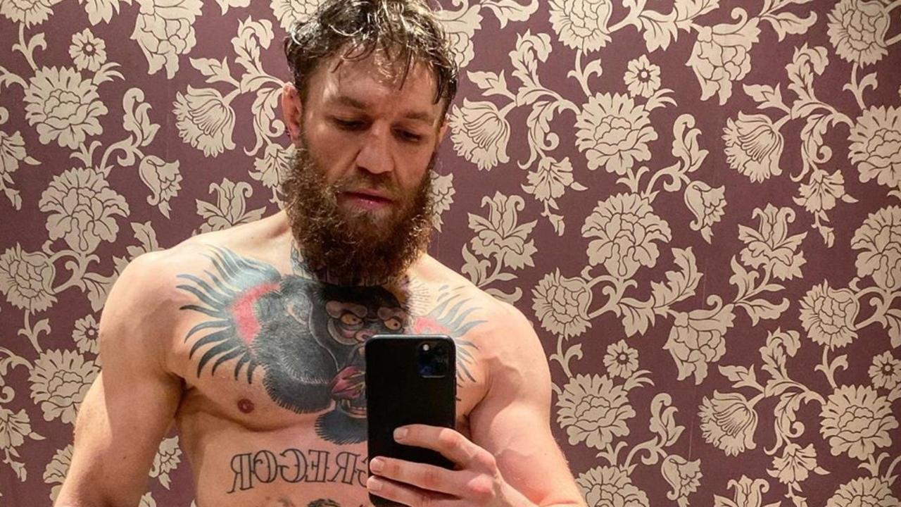 Conor McGregor is looking a lot bigger.