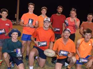 Aussie spirit on full display at social touch event