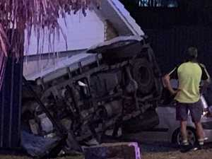 Woman allegedly thrown from car before crash