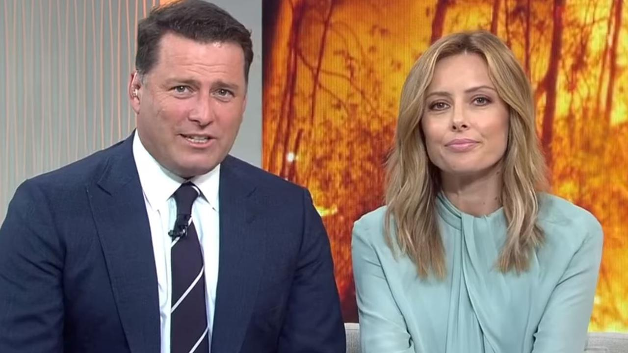 Karl Stefanovic and Allison Langdon on Today.