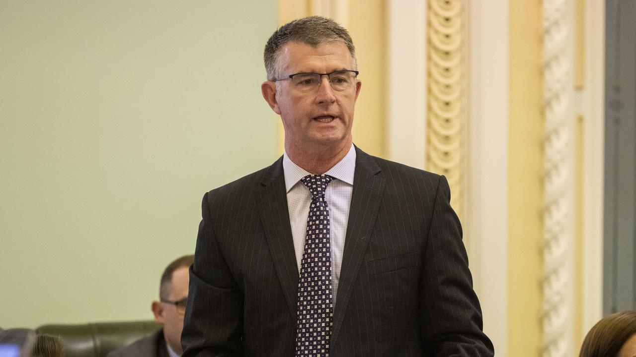Queensland Deputy Opposition Leader Tim Mander. Picture: AAP Image/Glenn Hunt
