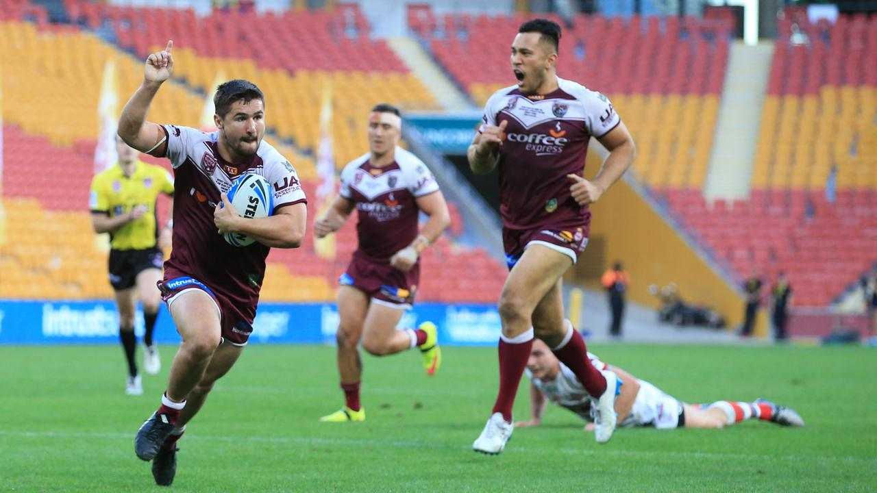 2016: Cameron CULLEN (BURLEIGH BEARS) 25th September 2016 - Queensland Rugby League (QRL) Grand Final Day - Game day Action from the 2016 QRL Intrust Super Cup Rugby League Grand Final at Suncorp Stadium Brisbane, Between the Burleigh Bears v Redcliffe Dolphins. Photo: SMP IMAGES.COM / QRL MEDIA