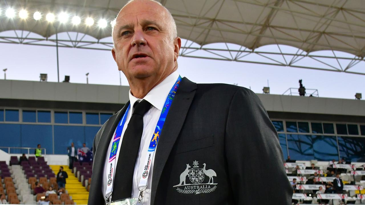 Socceroos boss Graham Arnold has his eyes on the Olyroos.