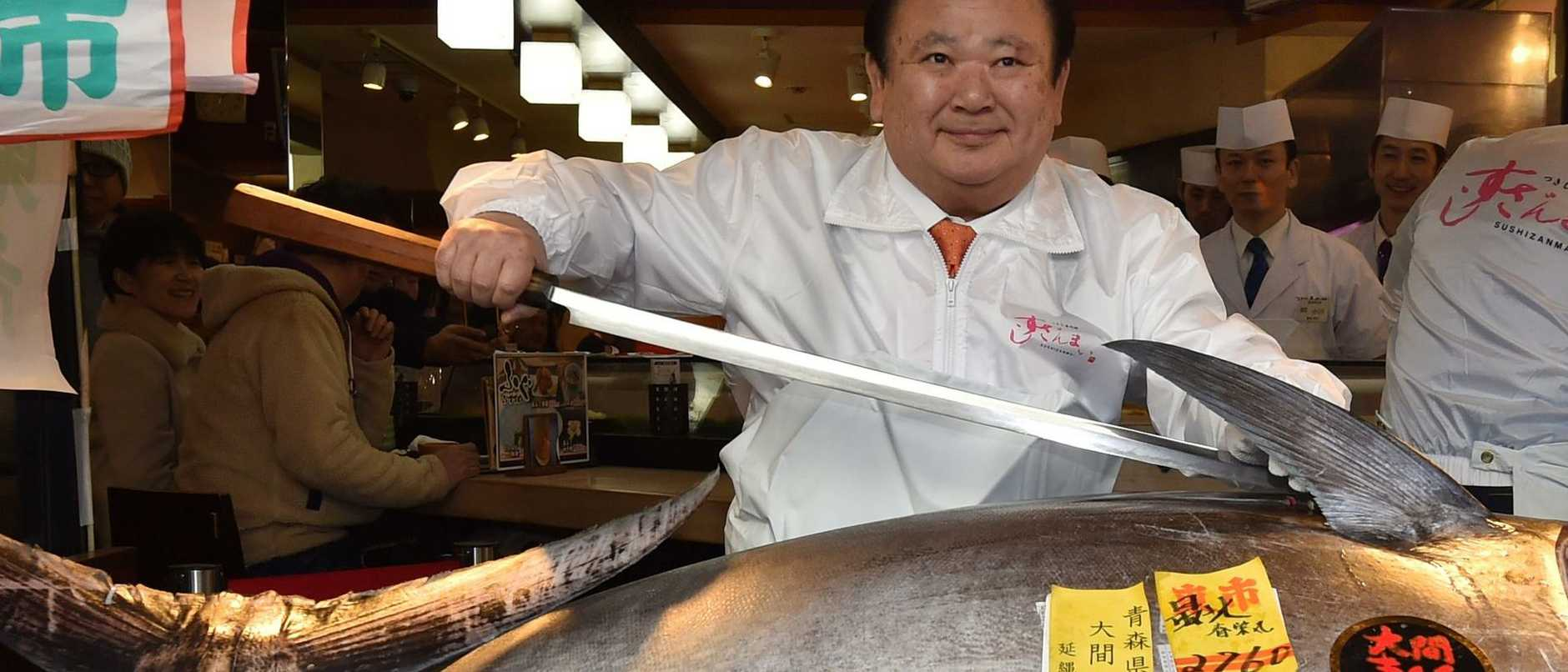 "Self-described ""Tuna King"" Kiyoshi Kimura on Sunday forked over 193 million yen – roughly $1.8 million – for a 276kg bluefin tuna at Tokyo's Toyosu fish market, according to the Japan Times."