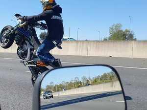 Police condemn motorbike stunts