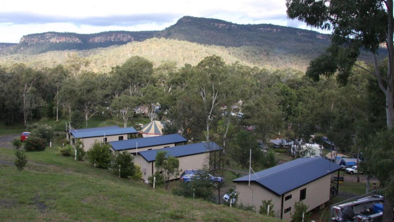 BREATHTAKING VIEWS: The BIG4 Cania Gorge Holiday Park located 35km out of Monto is for sale. Picture: Contributed