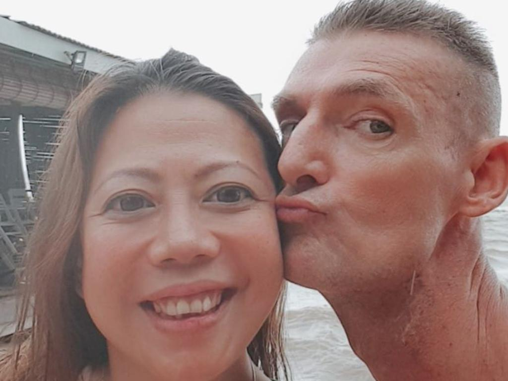 Ms Khoo and Ms Quirk shared an August 8 birthday and chose that date for their 2017 wedding. Picture: Facebook.