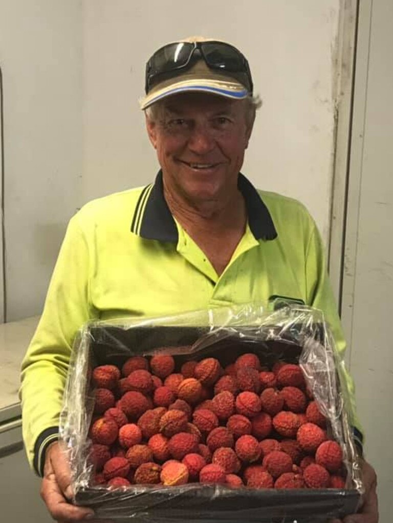 Sarina Beach farmer Tibby Dixon has provided lychee lovers their first bite of a seedless variety of the fruit in an Australian first.
