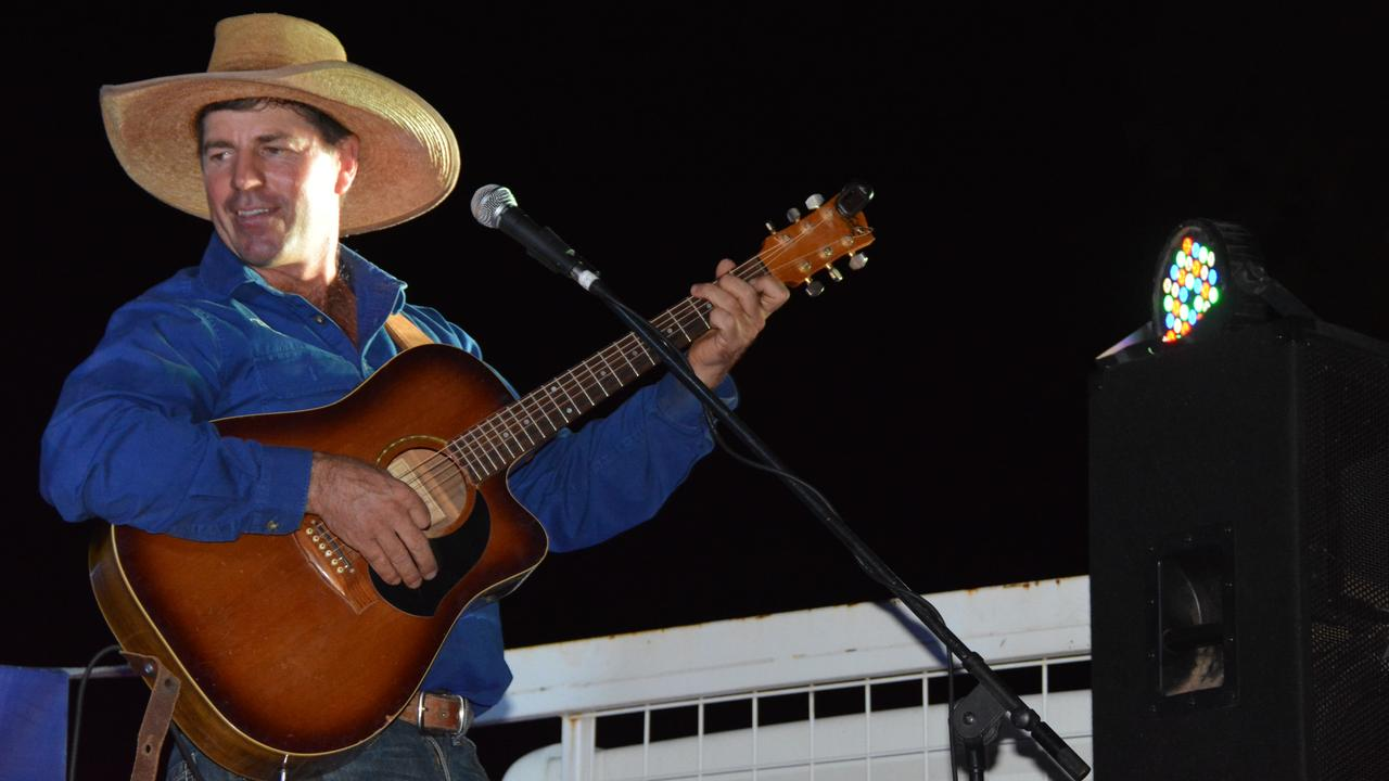 KUMBIA BORN AND BRED: Tom Curtain performing songs and stories from his