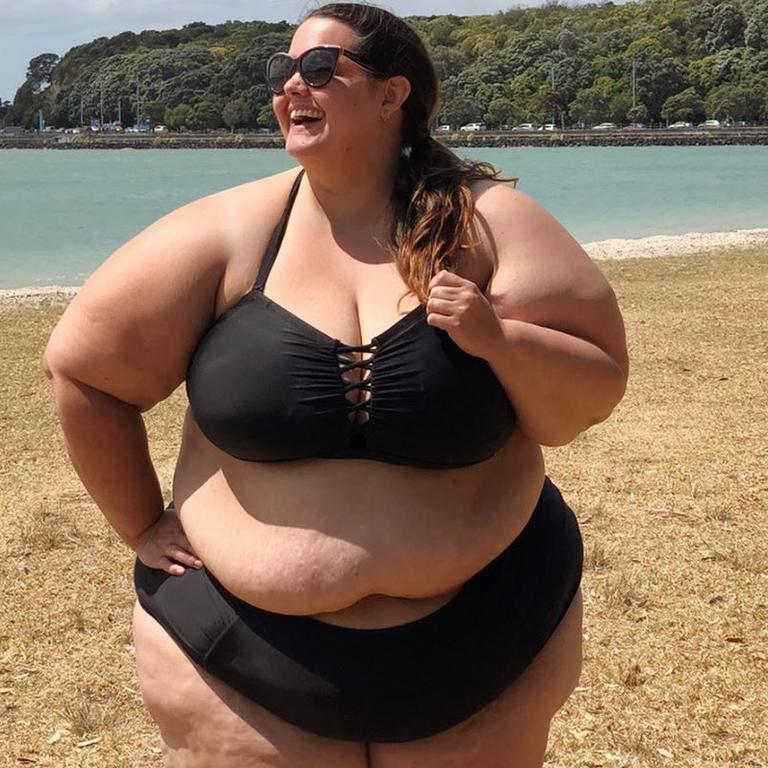 Meaghan Kerr is a fashion blogger who recently took to Instagram to share a series of 'real' bikini photos with fans. Picture: Instagram/thisismeagankerr