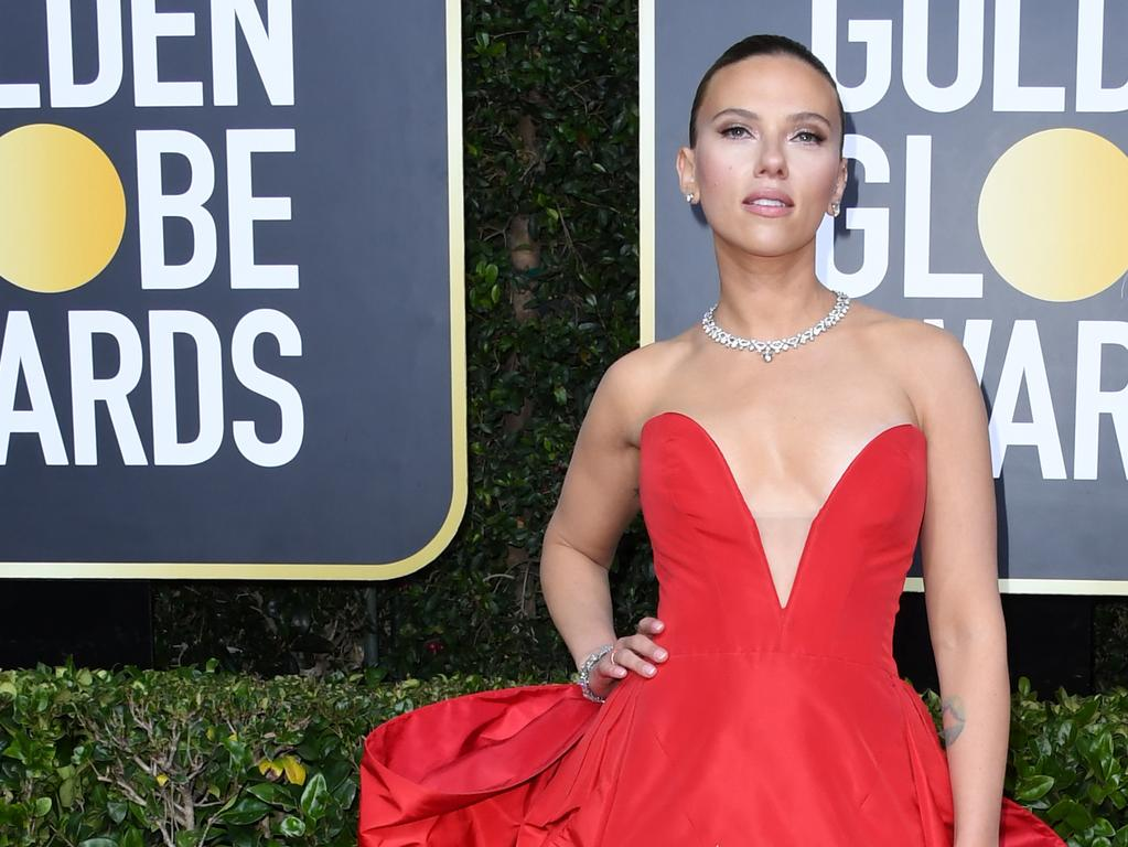 Scarlett Johansson attends the 77th Annual Golden Globe Awards at The Beverly Hilton Hotel. Picture: Getty Images