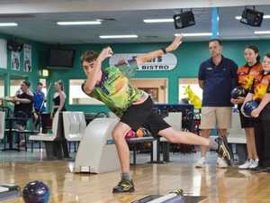 Ten pin bowled over by support