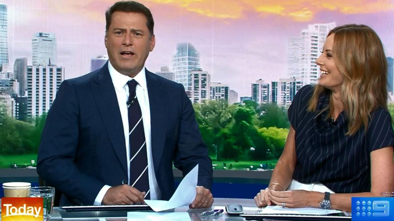 Karl Stefanovic and Allison Langdon are the new hosts of Today.