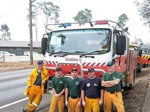Lockyer fireys return from four 'horror' days in NSW town