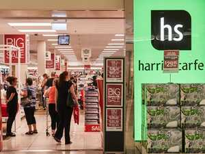Suppliers say Harris Scarfe stockpiled before collapse