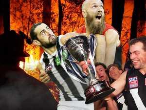 'Make it happen': AFL stars back bushfire Origin game