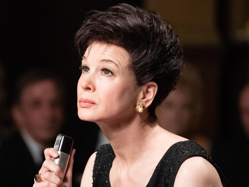 Renee Zellweger is Judy Garland in Judy. Picture: Supplied