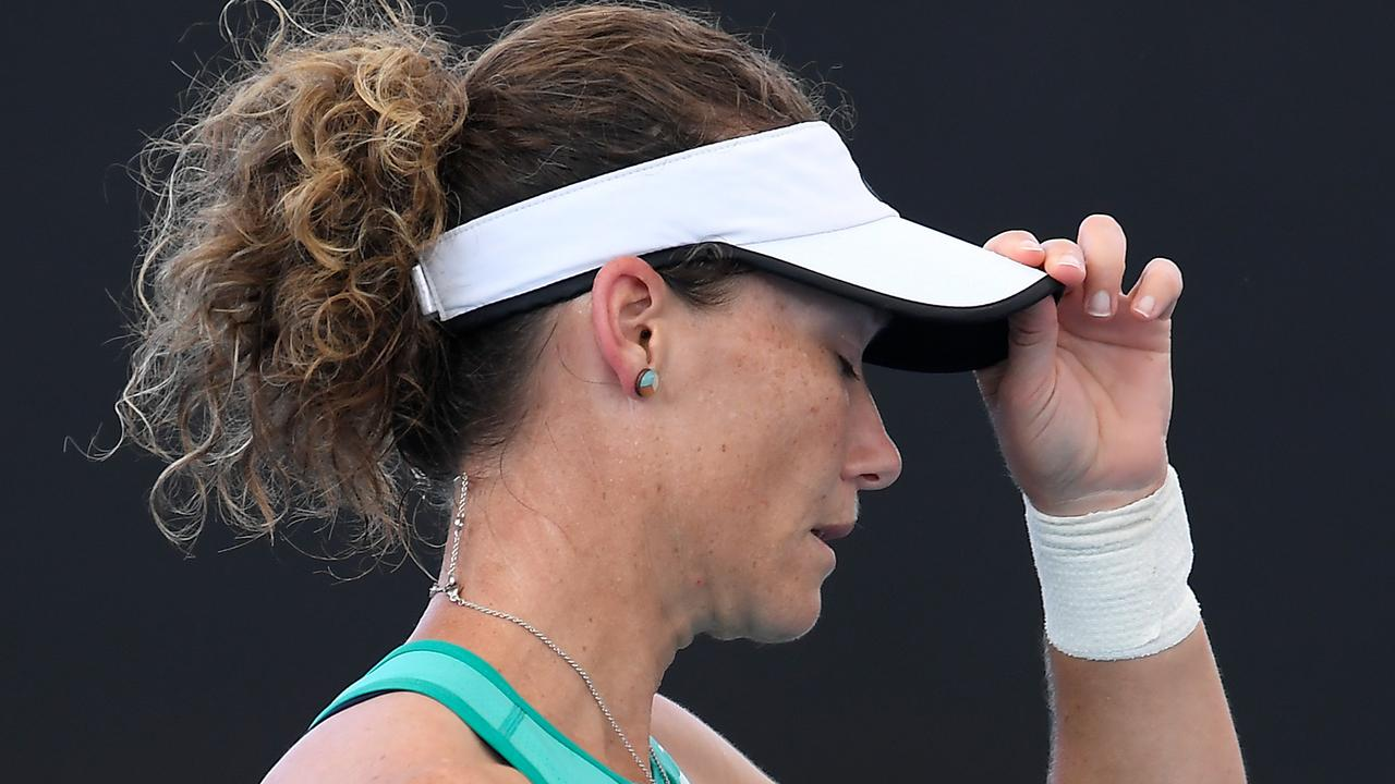 With a stirring win against world No.18 Angelique Kerber in her back pocket, Sam Stosur looked well placed to make at an impact at the Brisbane International.
