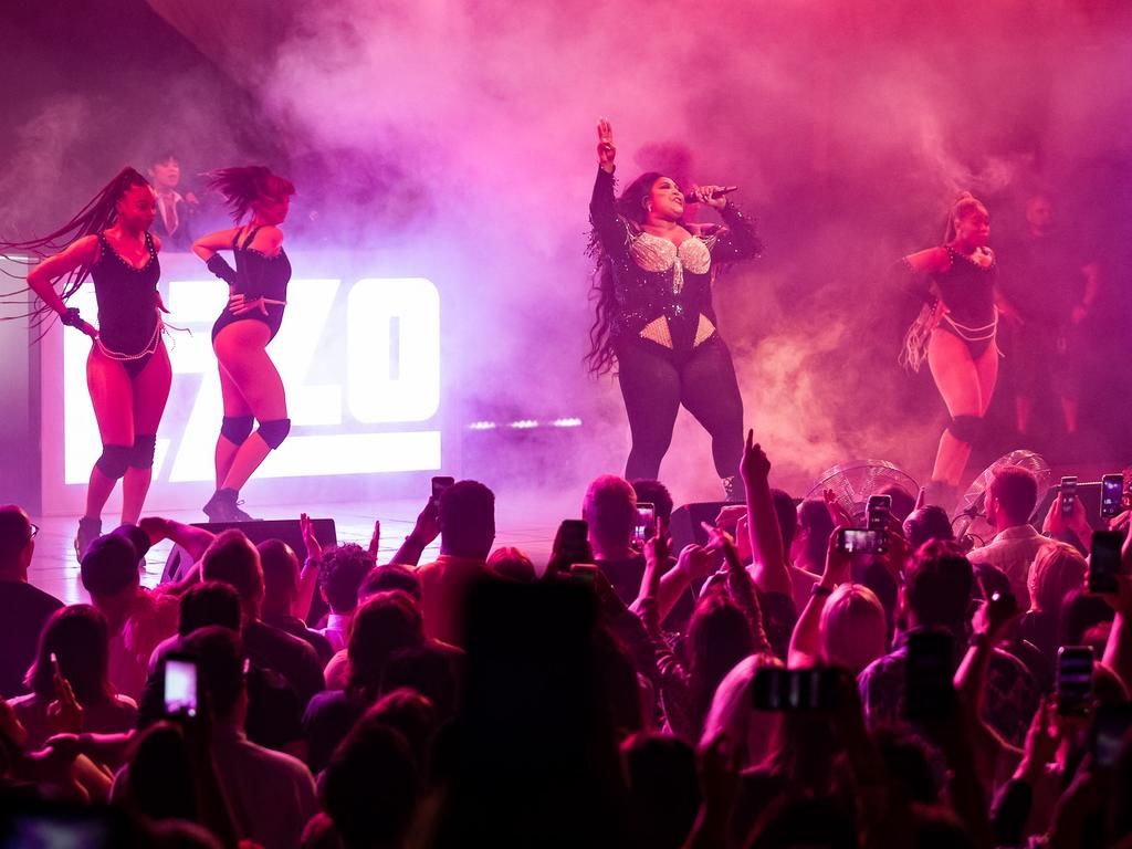 Lizzo performed at a sold out show at the Opera House just days ago. Picture: Daniel Boud/ Supplied