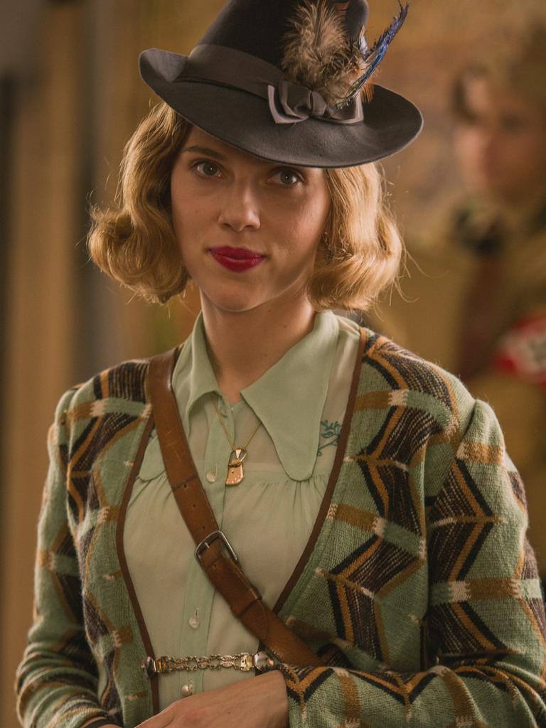 Scarlett Johansson in Jojo Rabbit. Picture: Supplied