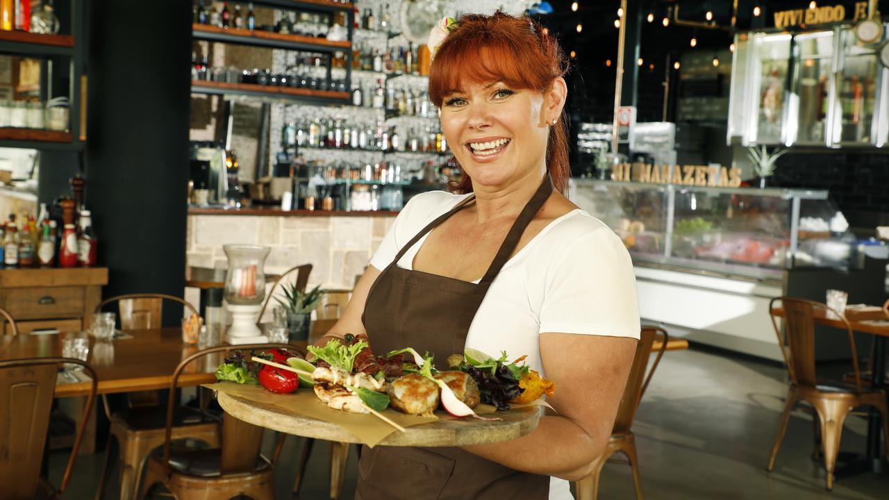 Tanya Duke pwns Mi MamaZetas tapas restaurant in Sydney's Rosebery. Picture: Chris Pavlich