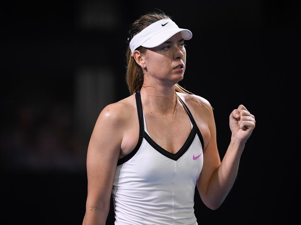 Maria Sharapova. (AAP Image/Albert Perez)