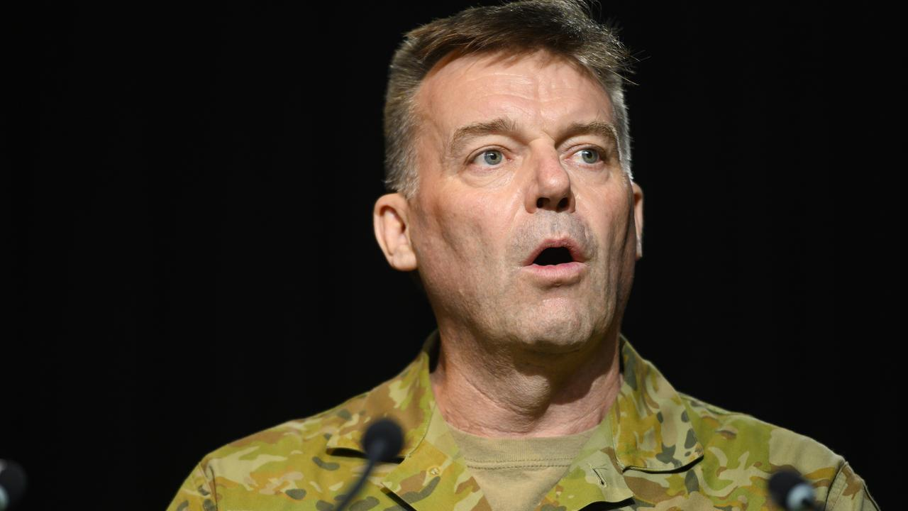 Chief of Joint Operations Lieutenant-General Greg Bilton said the Iranian situation was concerning. Picture: Rohan Thomson/Getty Images