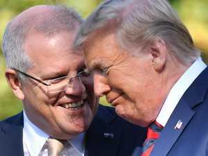 Trump says he 'loves Australia'