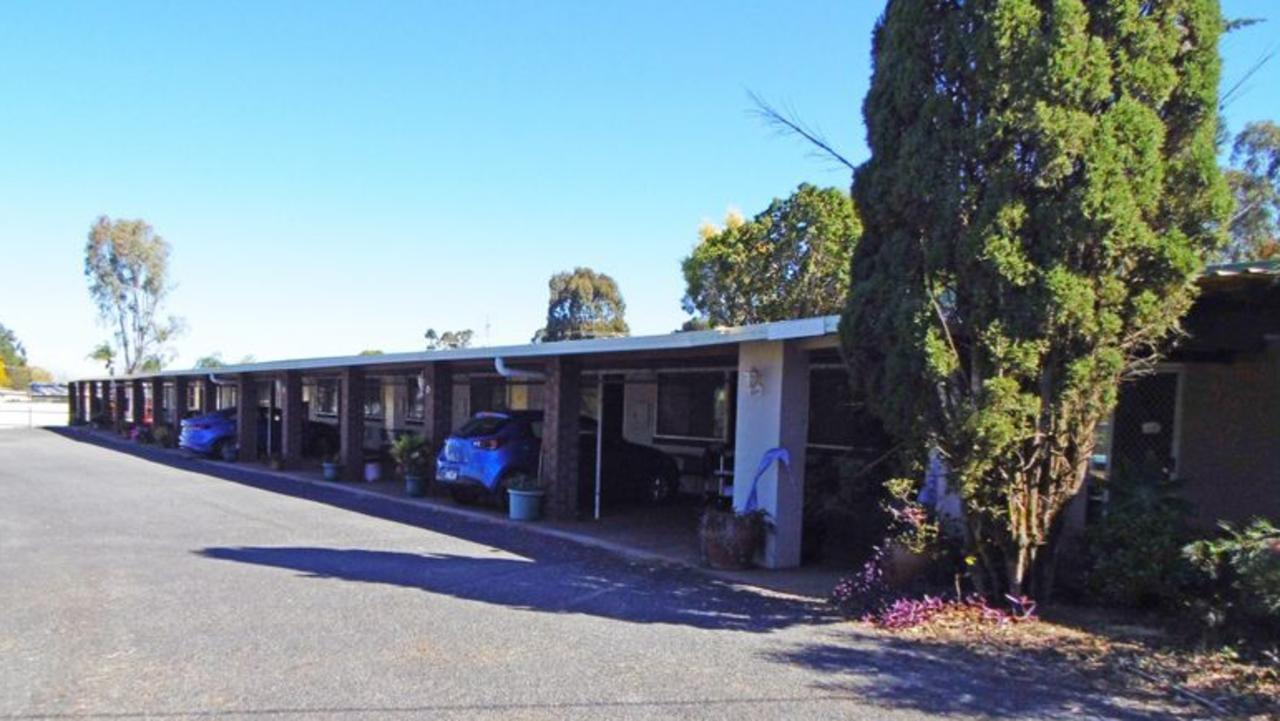 Motel Holliday, Kingaroy. Picture: Real Commercial