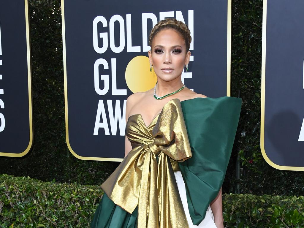 Jennifer Lopez attends the 77th Annual Golden Globe Awards at The Beverly Hilton Hotel. Picture: Getty Images