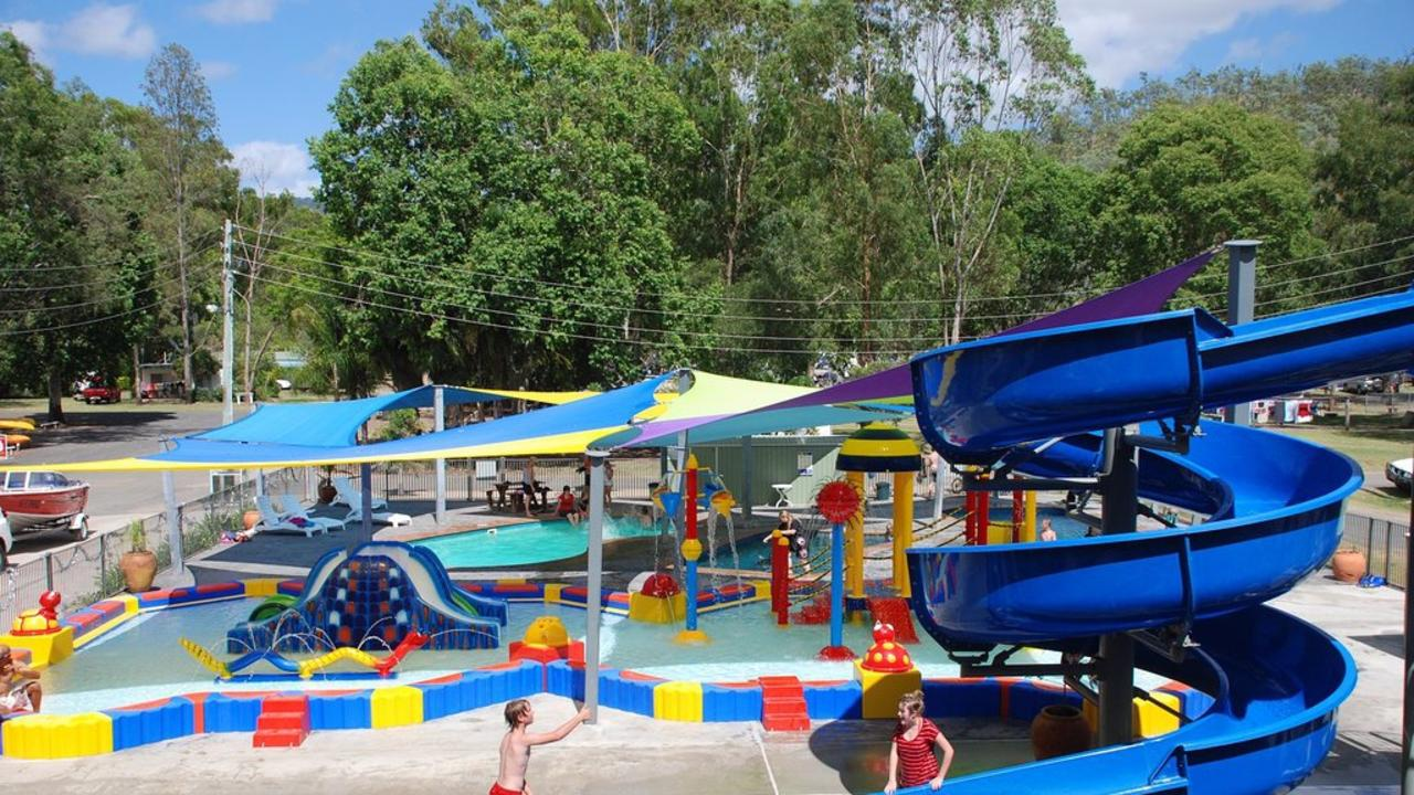 The large water park at the BIG4 Cania Gorge Holiday Park. Picture: Contributed