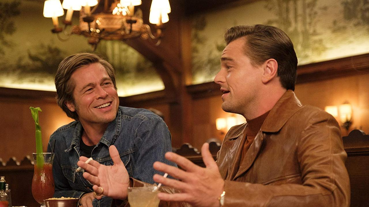 Brad Pitt and Leonardo DiCaprio in Once Upon a Time … in Hollywood.