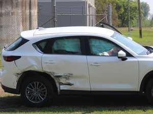 Car crash near popular park