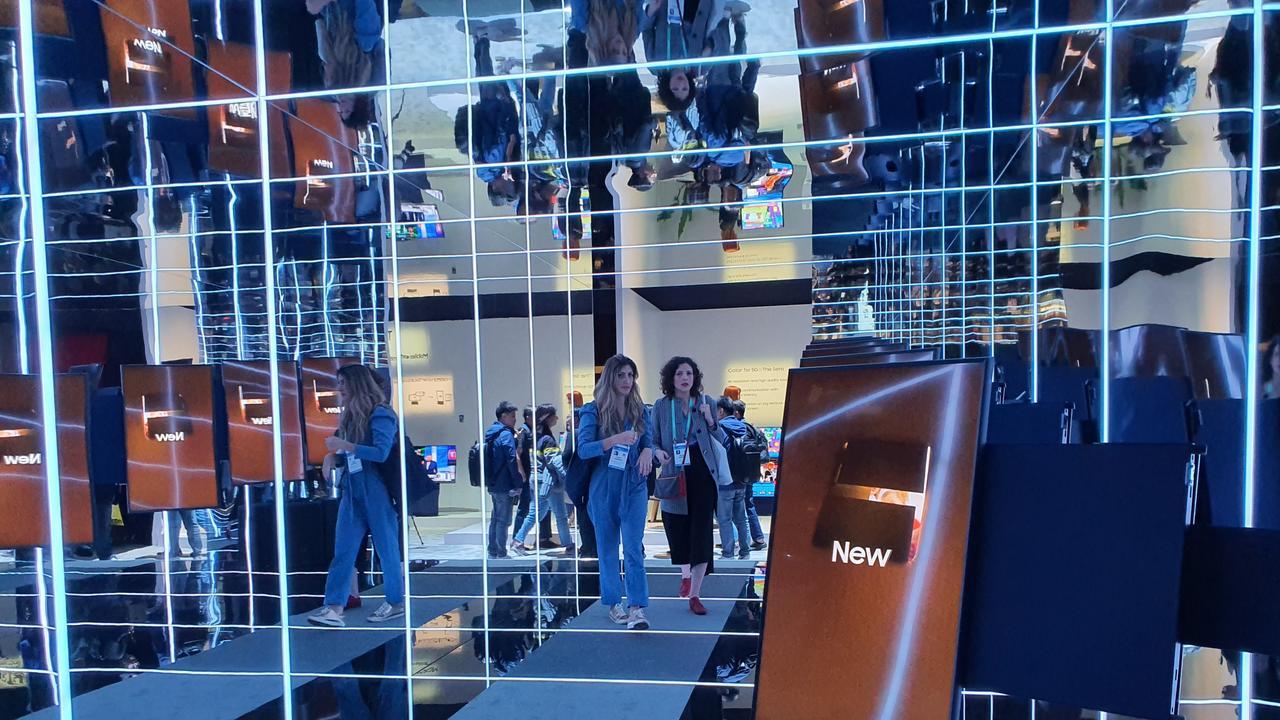 Samsung's The Sero. Photo: Tanya French