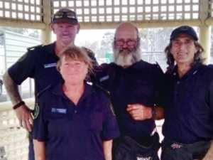 Local legends: Our fireys head south to help fight fires