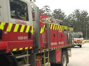 Mid North Coast RFS volunteers head south