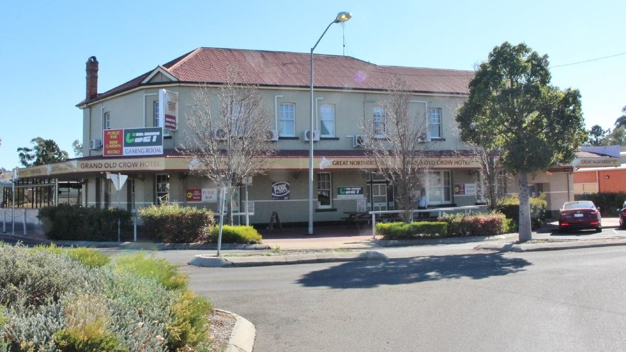 The Grand Old Crow Hotel in Crows Nest.