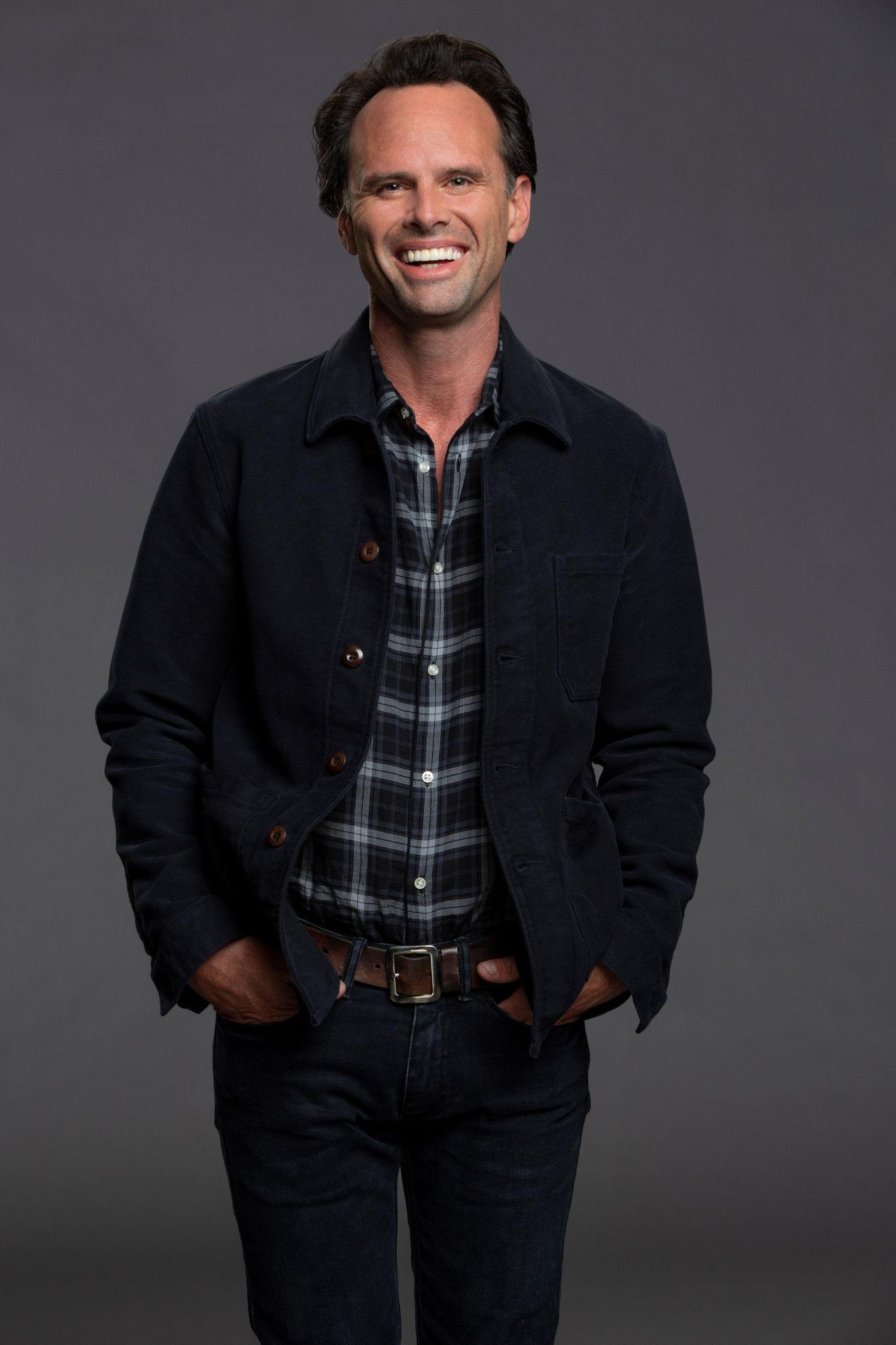 Walton Goggins stars in the sitcom The Unicorn.