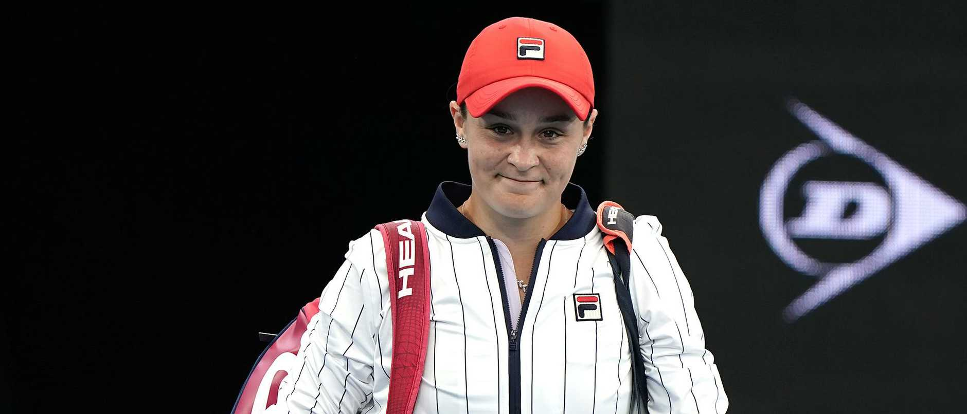 Ashleigh Barty is a nominee in the Australian of the Year award to be unveiled at the National Arboretum, Canberra, on January 25.