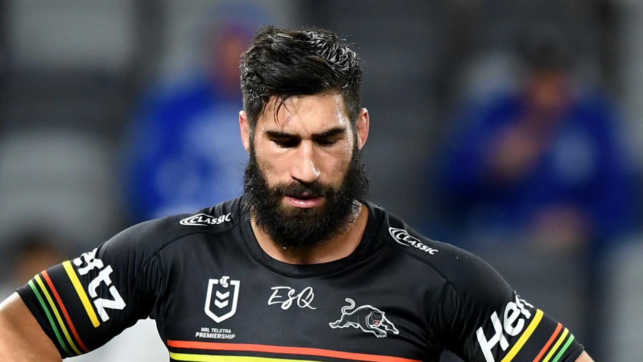 James Tamou has opened up on his time helping to fight the Australian bushfires.