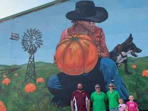New mural illustrates Goomeri's pumpkin passion