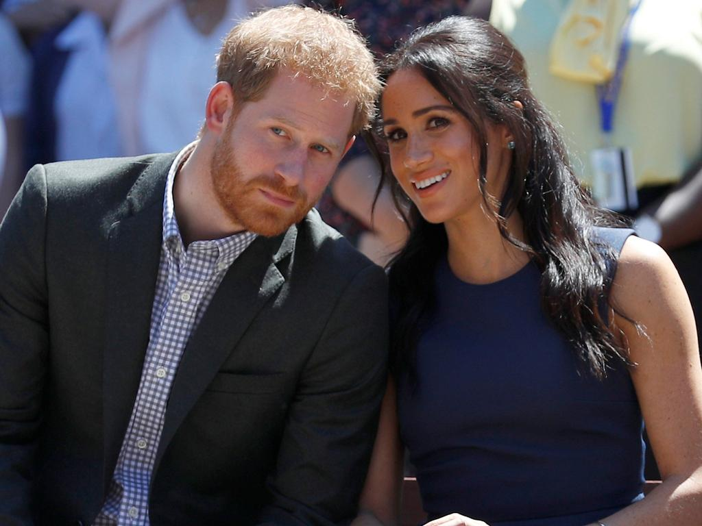 Prince Harry, Duke of Sussex and Meghan, Duchess of Sussex watch a performance during their October 2018 visit to Macarthur Girls High School in Sydney, Australia. Picture: Phil Noble – Pool/Getty Images
