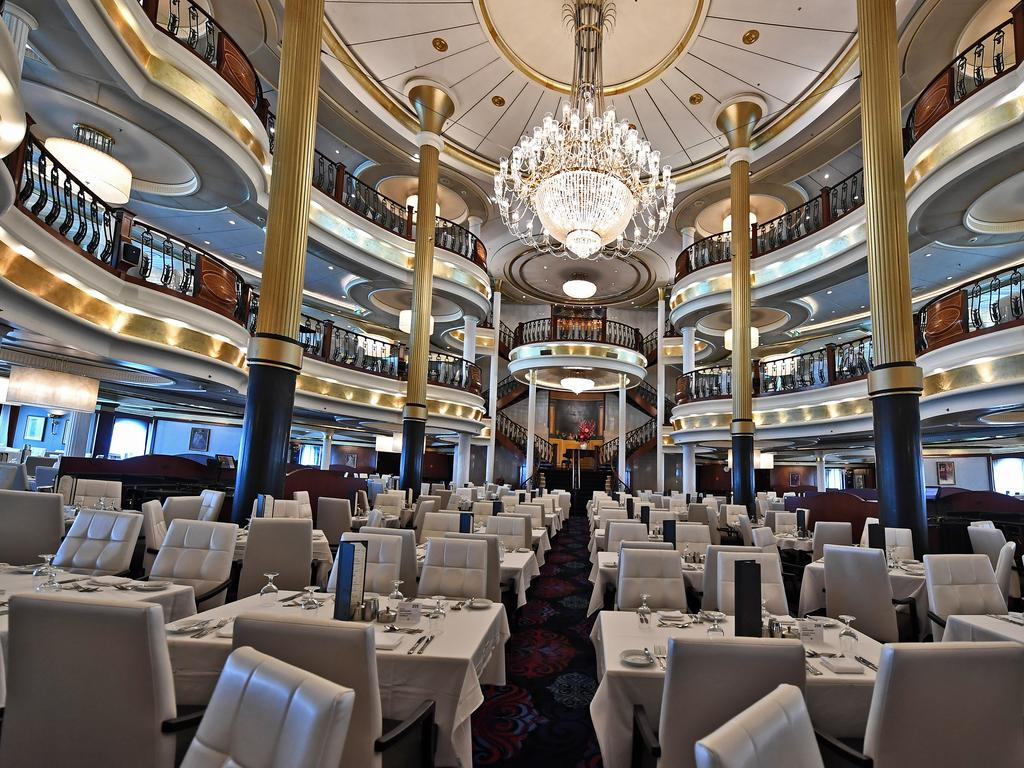The Main Dining Room. Picture: Royal Caribbean