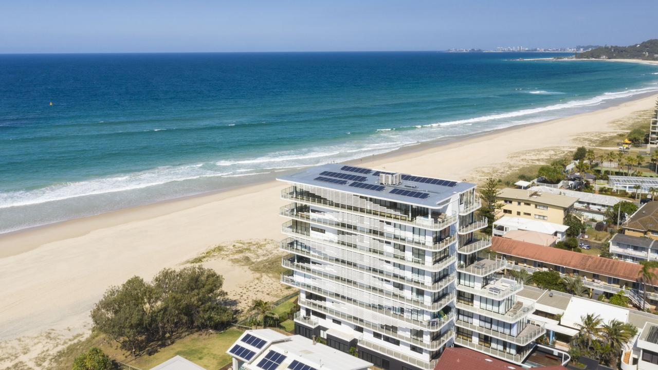 Enjoy this view? Art Union's latest prize home is in Palm Beach in the One Palm Beach complex. Picture: Supplied