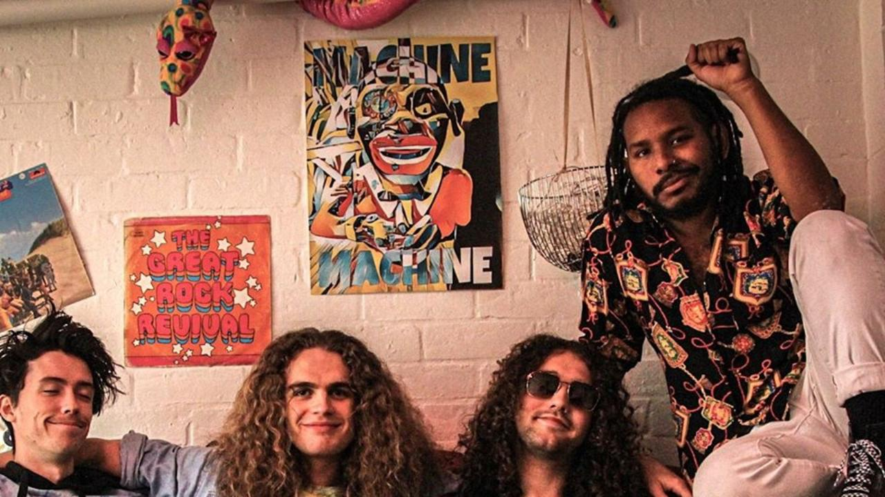 North Queensland band Machine Machine play Yamba's Eat to the Beat on Saturday.