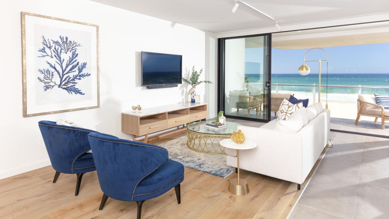 A $5 outlay could score a lucky winner a $2.3 million beachfront apartment on the Gold Coast.