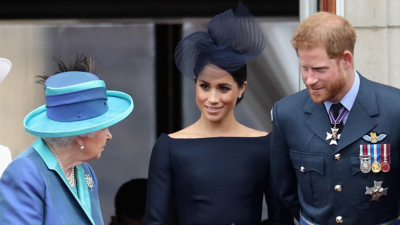 The decision marks a huge break in Meghan and Harry's position in his family. Picture: Chris Jackson/Getty Images