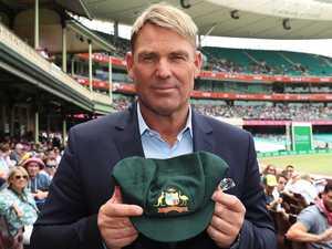 'Blown away': Warne's cap sells for $1m