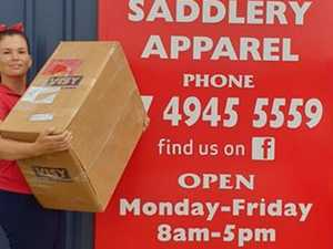 Proserpine saddlery taking help for horses
