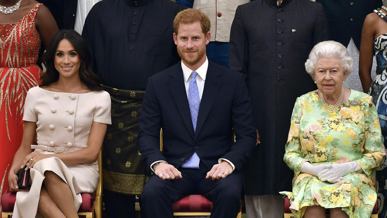 """The Queen is said to be """"disappointed"""" by Meghan and Harry's actions. Picture: John Stillwell/Pool Photo via AP, File"""
